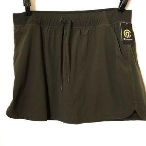 Champion Duo Dry skirt-Short green olive size XXL